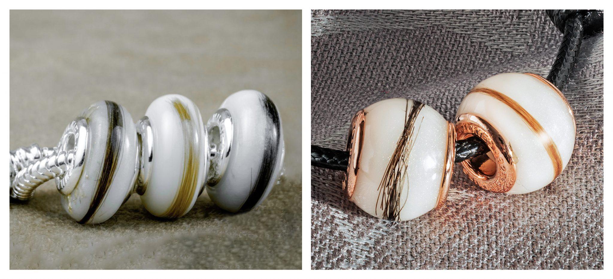 Włoski zatopione w perle *