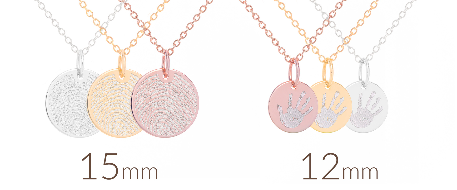Round tag with personalized engraving *