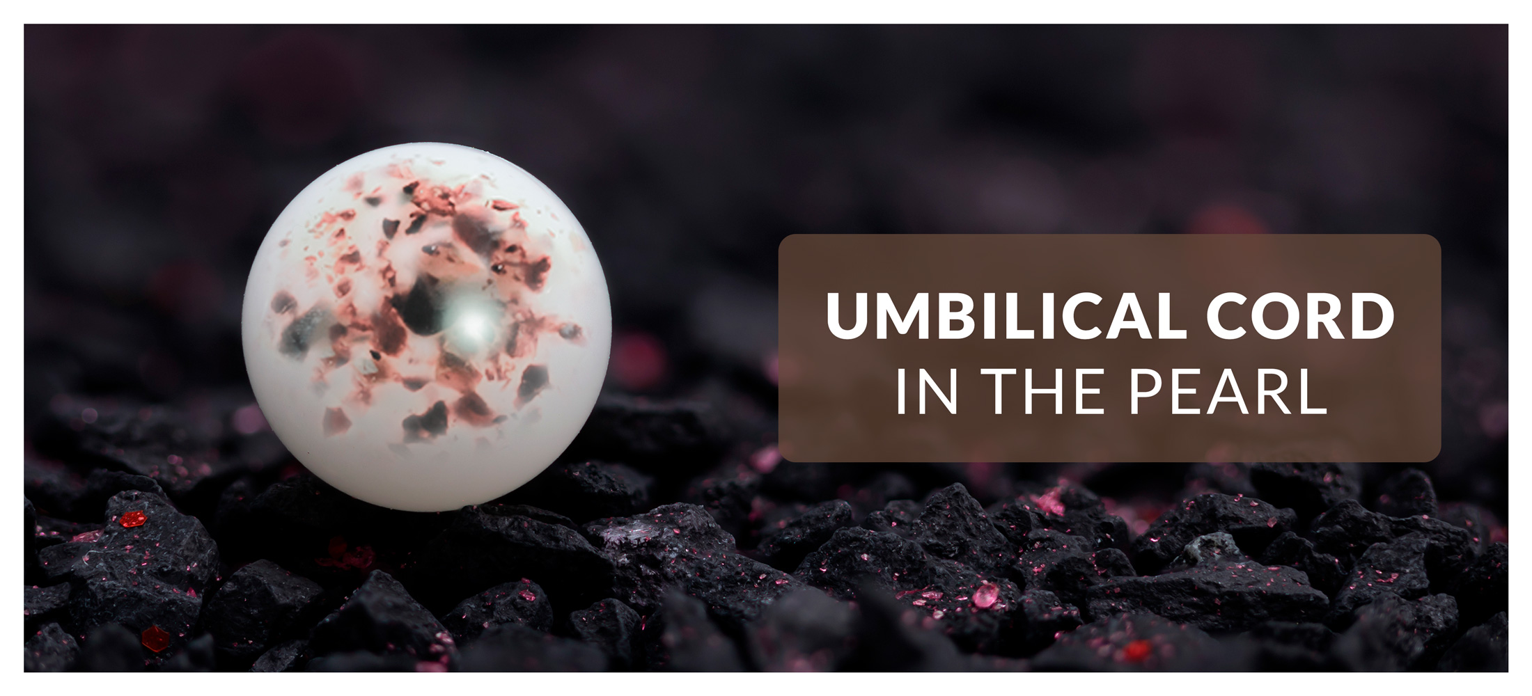 Incorporation of the umbilical cord - first bead *