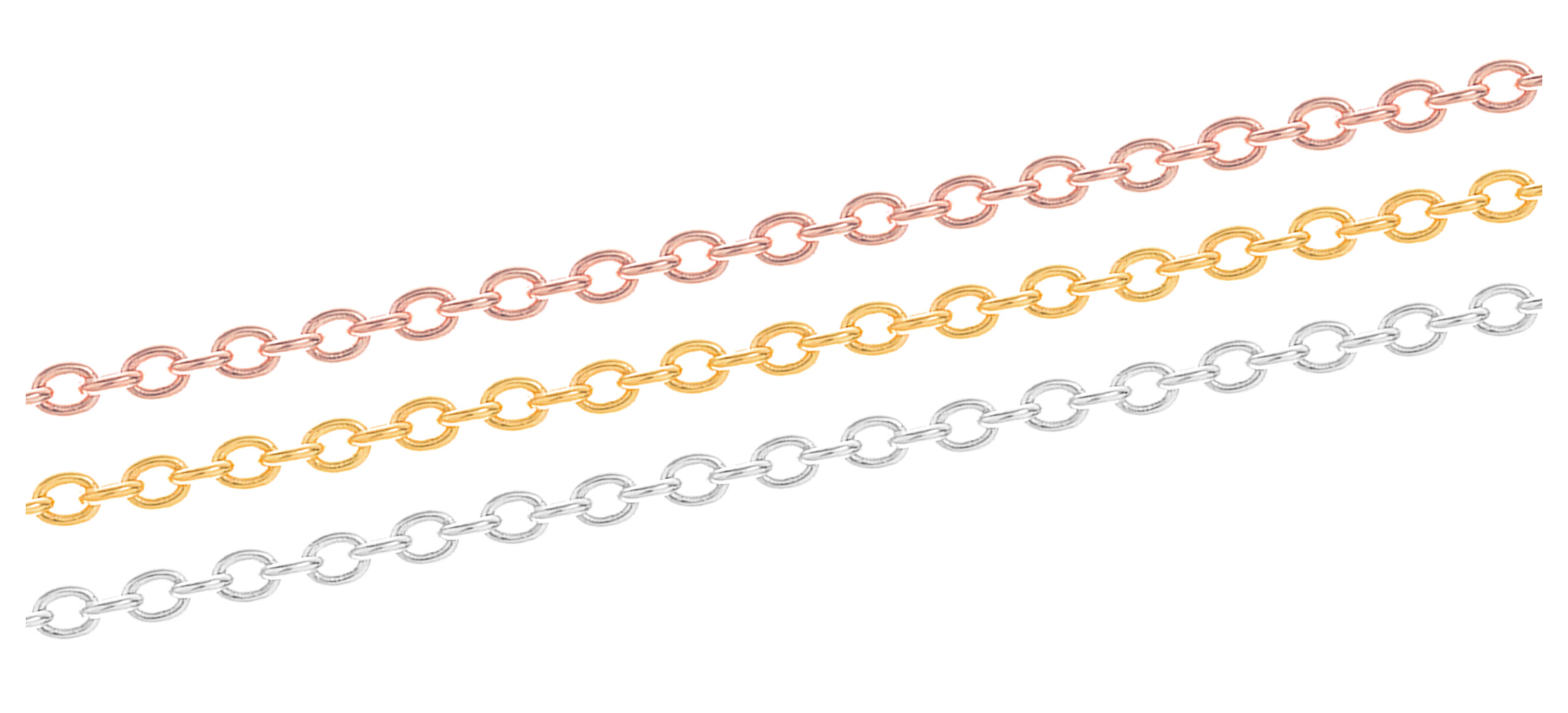 Colour of necklace chain *